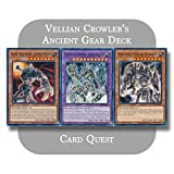 Yu-Gi-Oh! GX - Vellian Crowler's Complete Ancient Gear Fusion Deck