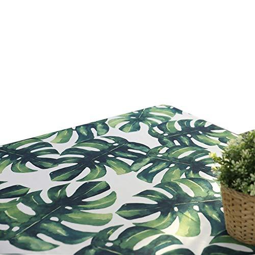 Chenyu étanche Dinnertablecloth rectangulaire Table de pique-nique Housse lavable Nappe Décoration de la Maison, 140x220