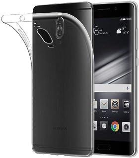 غطاء جراب Huawei Mate 9 Pro، جراب جلد TPU ناعم من الجل الشفاف