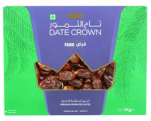 Dry Fruit Wala Date Crown Khenaizi Dates, 1 kg