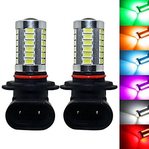 YaaGoo bright fog lights LED DRL bulbs,ice blue,9006 HB4