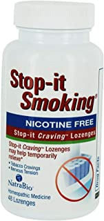Natrabio Stop-it Smoking and Craving Berry, 48 Count