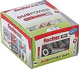 fischer DUOPOWER 8 x 40, Universaldübel, leistungsstarker 2-Komponenten-Dübel, Kunststoffdübel...