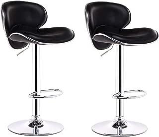 NMDB Chair Lift Chair Piece Set Front Bar Chair Home Chaise pivotante 360 degres Tabouret Bar Minimaliste Moderne Tabouret Bar Tabouret Haut Dossier Haut  62 5-83cm
