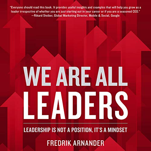 We Are All Leaders audiobook cover art