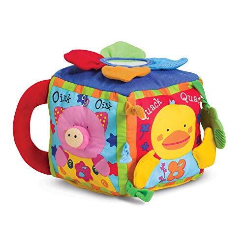 Product Image of the Ks Kids Musical Farmyard Cube Learning Toy