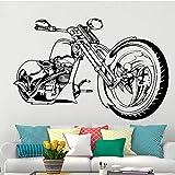 Pegatinas de pared de motocicleta Harley, decoración del hogar, sala de estar, dormitorio, fondo de pared, calcomanía artística, papel tapiz A1...