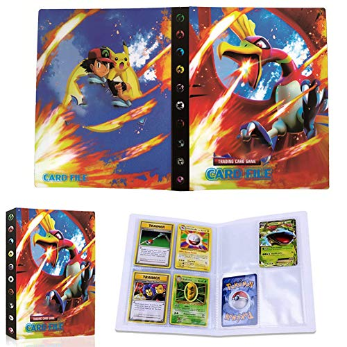 JAHEMU Pokemon Carte Album Pokemon Carta Album Titolare Pokemon Album Cartella Pokemon GX Ex Cards Album Avere 30 Pagine 240 capacità di Carte