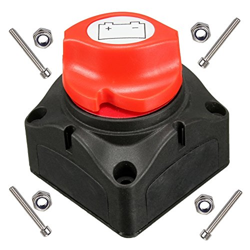 ANJOSHI Battery Switch Master Isolator Cut Off Kill Switch for RV Battery Marine Boat Car Vehicles 275/1250 Amps Waterproof