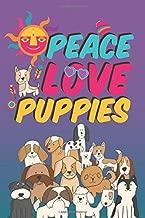 Peace Love Puppies: Gratitude Journal for Tweens, Kids or Teens