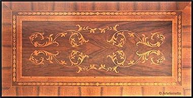 Arteferretto Bureau marqueté 5 tiroirs Classique