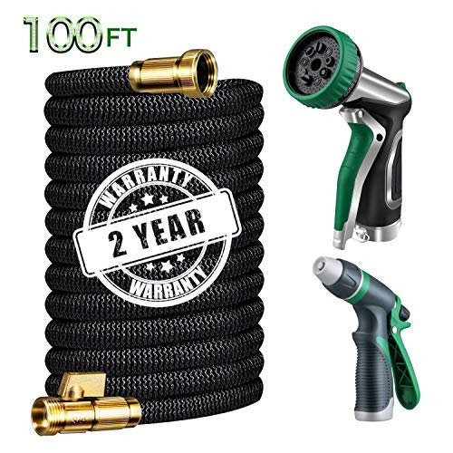 Gamegie Garden Hose 100 ft, Expandable