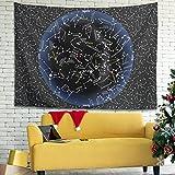 Wandlovers Zodiac - Tapiz mágico para pared (150 x 150 cm),...
