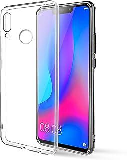 Huawei Nova 3 Case, Eouine Clear Transparent Gel Case Soft TPU Silicone Shockproof Phone Cover Ultra Slim Bumper Skin for ...