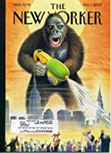 New Yorker Magazine August 1, 2005 George Saunders Fiction, David Sedaris,