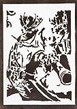 Póster Bloodborne El Cazador Grafiti Hecho a Mano The Hunter Handmade Street Art - Aesthetic Artwork