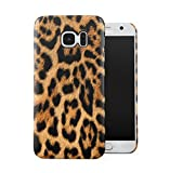 Leopard Fur Pattern Dünne Handy Schutzhülle Hardcase Aus Hartplastik Hülle Kompatibel mit Samsung Galaxy S7 Handyhülle Hülle Cover