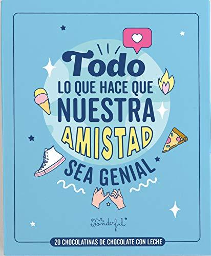 Mr. Wonderful Libro Con Chocolatinas - Todo Lo Que Hace Que Nuestra Amistad Sea Genial, 100 g