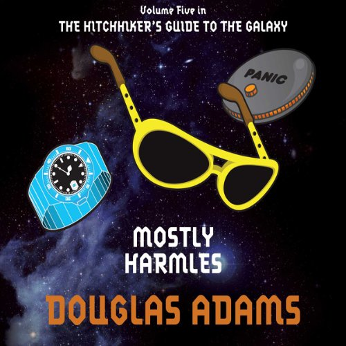Mostly Harmless cover art