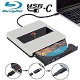 NOLYTH USB C External Bluray Drive USB3.0 External Blu Ray Player Burner Drive