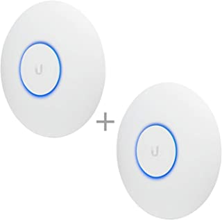 Ubiquiti Networks UAP-AC-PRO-US Unifi 802.11ac Dual-Radio PRO Access Point (2 Items)