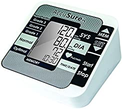 AccuSure TS Blood Pressure Automatic Monitoring System (White)
