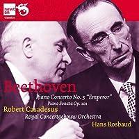 ベートーヴェン:ピアノ協奏曲 第5番「皇帝」&ピアノ・ソナタ 第28番