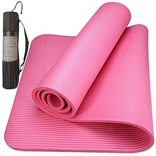 Colchonete Para Yoga Pilates Ginástica Yangfit Com Bolsa de Transporte