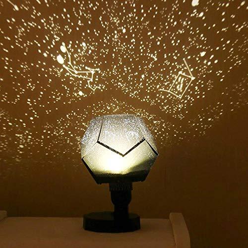 Proyector De Lámpara De Estrella Star Sky Projection Night Lights Proyector Night Lamp Starry Romantic Dormitorio Decoración Iluminación Gadget