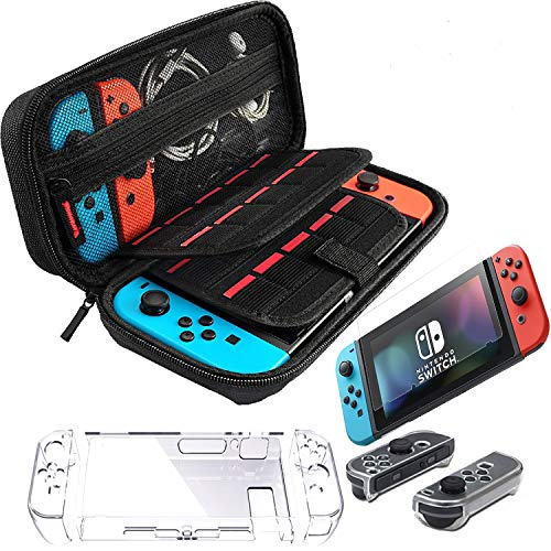 Accessories for Nintendo Switch Including EVA Portable Travel Carrying Case with...