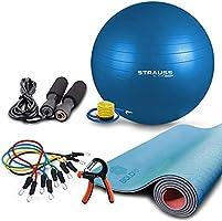 Yoga Mats & Fitness Accessories | AmazonBasics, Strausss, Nivia & More