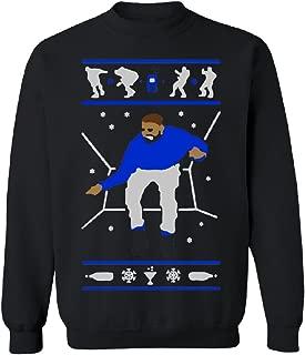 1800 Hotline Bling Dance Unisex Crewneck Drake Ugly Xmas Sweater (1) Sweater