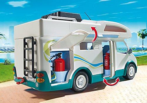 Auto Caravane Camping Playmobil pour la Famille - 6671 - 3
