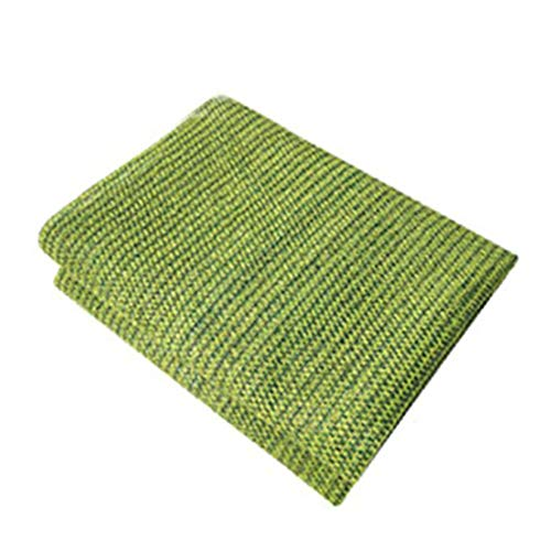 YAOJIA Shade Net Sunblock Shade Cloth 75% Shading Rate   Green Shade Net For Flowers Balcony Awnings (Color : Green, Size : 2x1.8m)