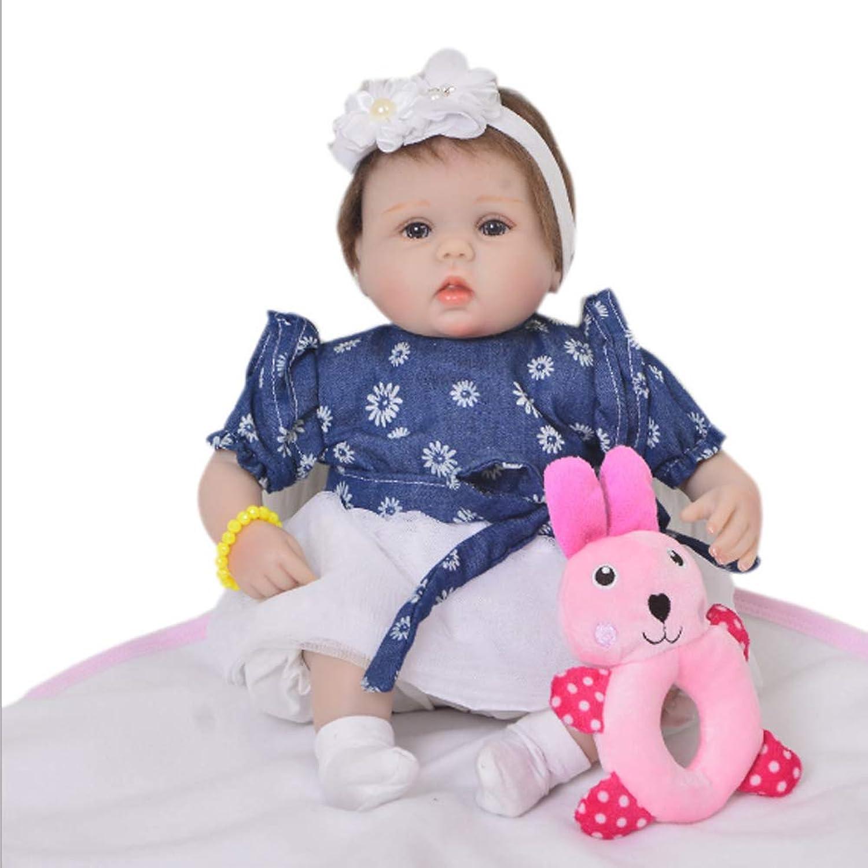 Candyana Reborn Baby Doll Silicone Full Body Realistic Girl Dolls Vinyl Neugeborene 42cm Kids Xmas Geschenke B07KXLHTLS Clever und praktisch  | Viele Sorten