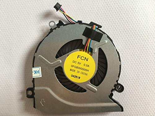 HK-Part Fan Replacement for HP 15-an Pavilion 15-AB 17-G 15-AB000 15-AB100 Envy 17-S CPU Cooling Fan PN 812109-001