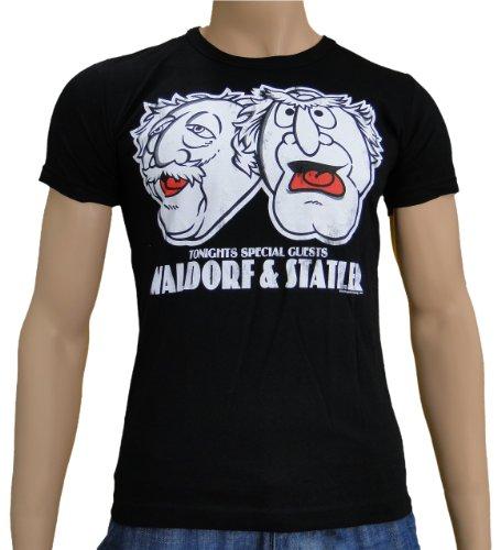 Muppets - Waldorf & Stadler Logoshirt T-Shirt S-XXL