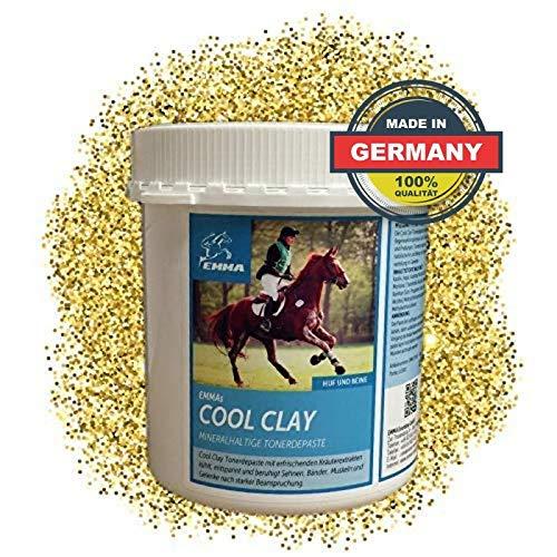 EMMA® Cool Clay azijnzuur klei paard I Arnica zalf I paardenbalsem koeling I klei pasta pezen, ligamenten & spieren paard 1,5 Kg