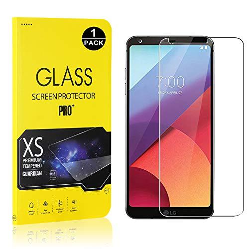 Bear Village® Displayschutzfolie für LG G6, 9H Hart Schutzfilm aus Gehärtetem Glas, Ultra klar Displayschutz Schutzfolie für LG G6, 1 Stück