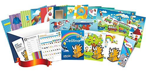 Compare Textbook Prices for Czech Poster and Book Set for Kids  ISBN 9781535725989 by Dino Lingo