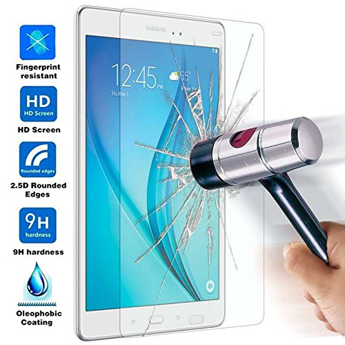 Protector de Pantalla Cristal Templado para Samsung Galaxy Tab A 9,7 T550...