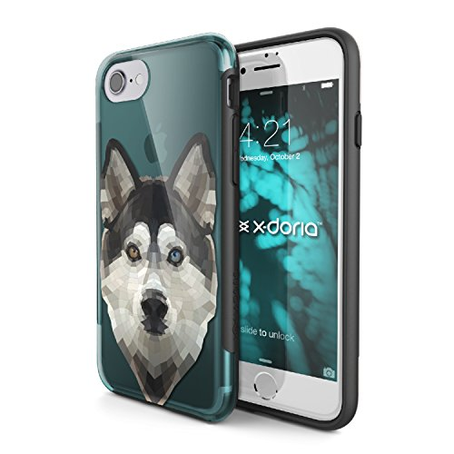 Coque élégante de X-Doria pour iPhone 7 (Revel) Mode, élégance et Protection, Husky