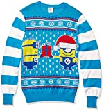 Despicable Me Men's Holiday Jam Sweater, Blue, Large