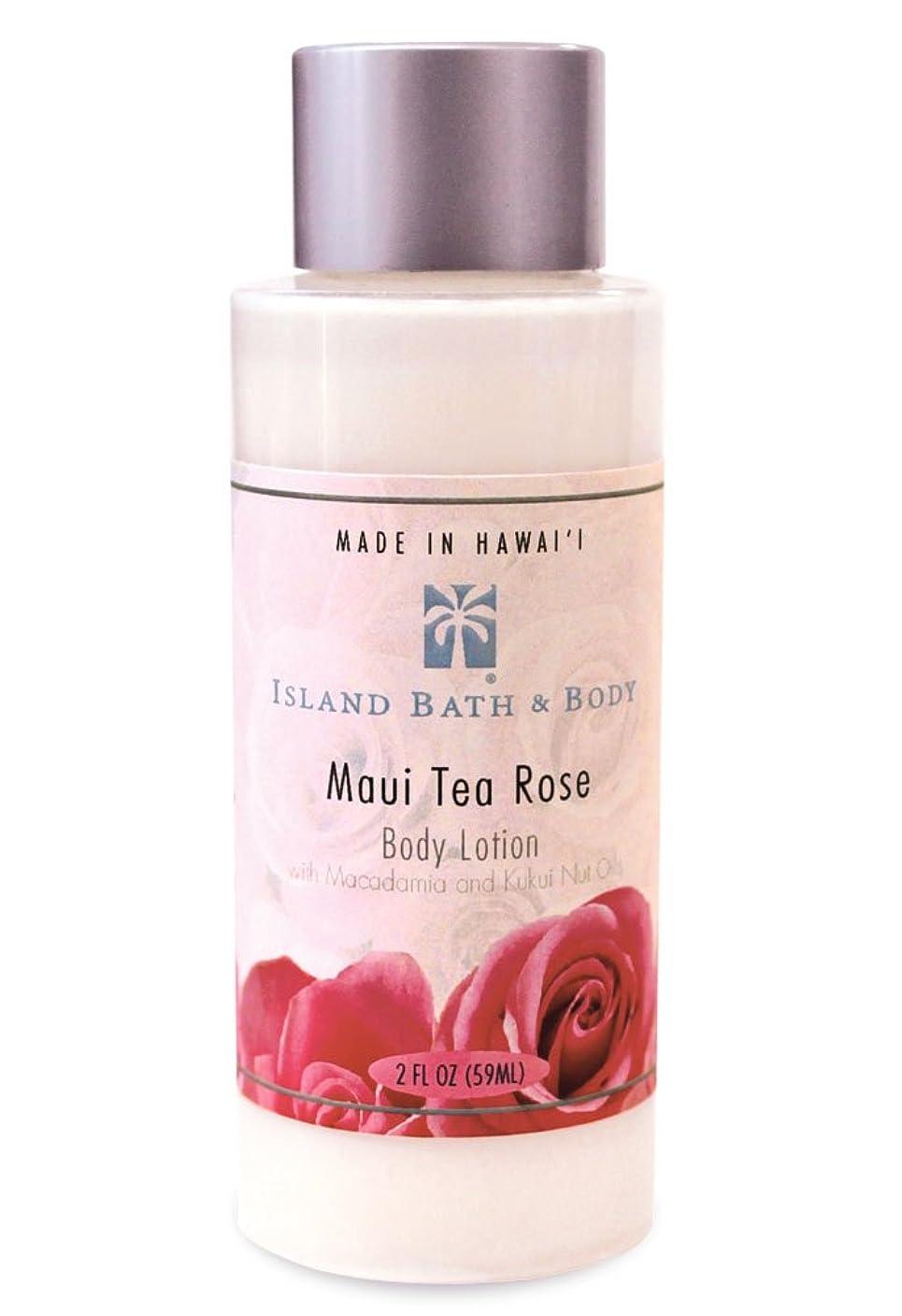 インゲン邪悪な面倒ボディーローション 2oz/Maui Tea Rose