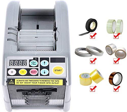 SEAAN - Dispensador de cinta adhesiva eléctrico, máquina de embalaje automática con...