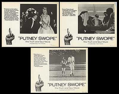 Putney Swope - Authentic Finally resale start Original 14x11 Cards Set Movie Max 50% OFF Of Lobby