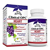 Terry Naturally Clinical OPC Heart - 600 mg Grape Seed Complex, 60 Vegan Capsules - Cardiovascular Support Supplement, Promotes Healthy Cholesterol Balance - Non-GMO, Gluten-Free - 60 Servings