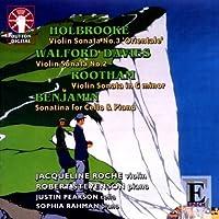 Violin Sonata No. 3 / Violin Sonata No. 2 / Violin by Holdbrooke (2009-01-13)