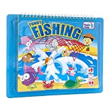 Fishing Board Game for Kids, Marine Animals Card Game for Family with Fishing Pond and Netfor Kids Age 4 Years&Up, 2-6 Players