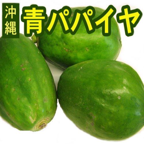 沖縄産 青パパイヤ 約3kg(3玉〜9玉)ご自宅用 ここち琉球発